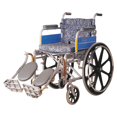 Wheel Chair Deluxe  /Elevated Foot Rest/ Mag Wheels