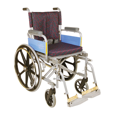 Wheel Chair Deluxe With High Back Rest / Mag Wheels