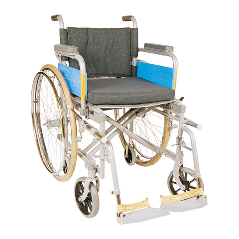 Wheel Chair -Deluxe /Folding/Spoke Wheels
