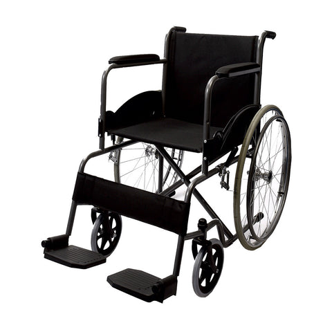 Black Magic Wheel Chair With Spoke Wheels (No Discount)
