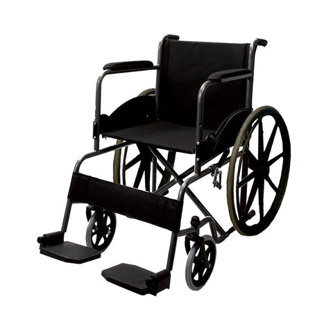 IMPERIO DELUXE WHEELCHAIR WITH REMOVABLE BIG WHEELS( No Discount )
