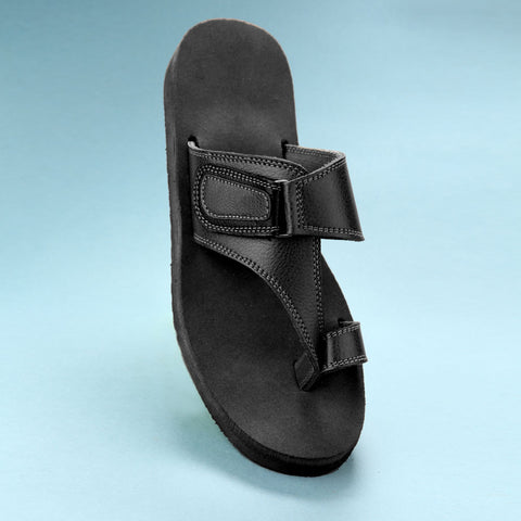 101 RU - Men-Diabetic and Senior Friendly Footwear - Rubber Sole