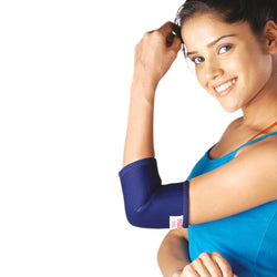 Neoprene Elbow Support With 2 Nos Bioflex Support