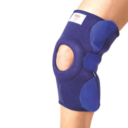Neoprene Knee Support With Velcro & 2 Nos Bioflex Magnets