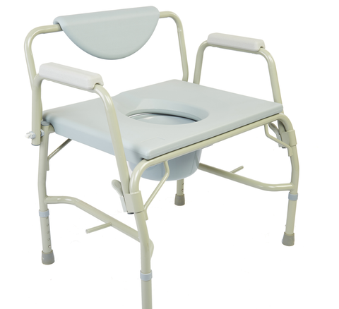 M302 - Deluxe Bariatric Drop-Arm Commode