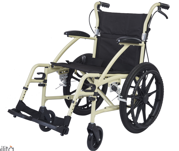 M603MC -  Deluxe Aluminium Wheelchair