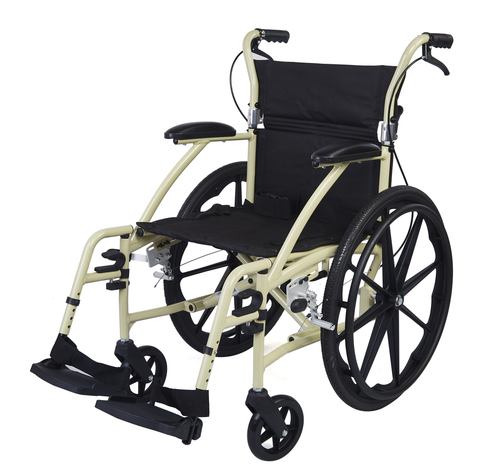 M604MC -  Deluxe Aluminium Wheelchair