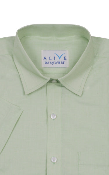 Alive EasyWear Shirt - Natural Green - Short Sleeve