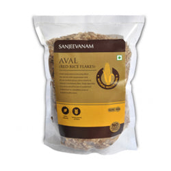 Aval ( Red Rice Flakes )- 500 G