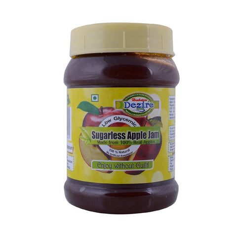 Apple Jam Bottle - 250G - Sugarless Jams