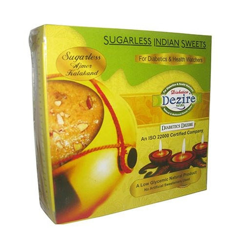 Kalakand 250Gm - Sugarless Sweets