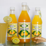 Lemon Ginger Squash - 700Ml - Sugarless Squash