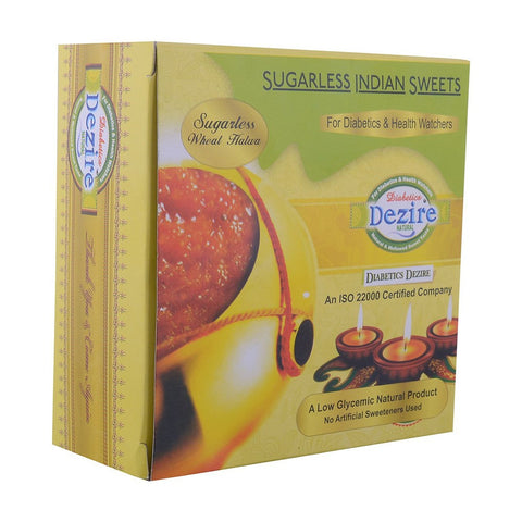 Samba Wheat Halwa - 250G - Sugarless Sweets