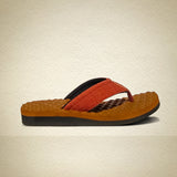 Men's Ethnic Design - Orthopedic & Diabteic Flip Flops With Contured InSoles - 110RU
