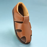 507 PU L - Men-Senior Friendly Footwear - Leather Polyurethane Sole
