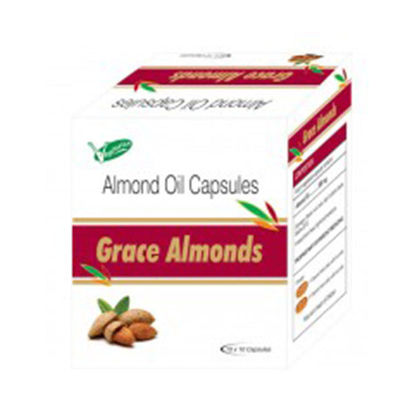 Almond Oil 500 Mg Capsules
