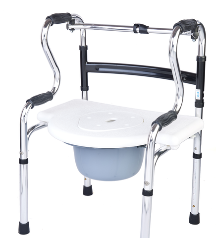 M305 - 6 in 1 Multi Functional Walker Commode Shower chair