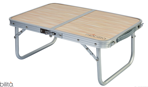 M503 - Aluminium Overbed Double Foldable Table