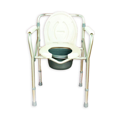 Aluminium Folding Commode