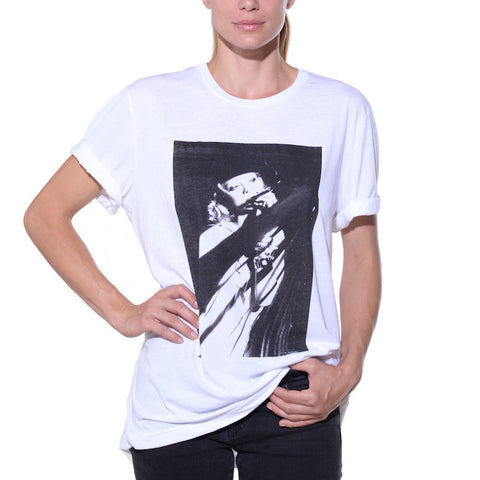 Cool, graphic, white, t-shirt