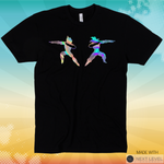 Dab Fusion Holographic Tee