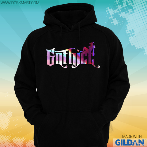 Gothicc Holographic Hoodie