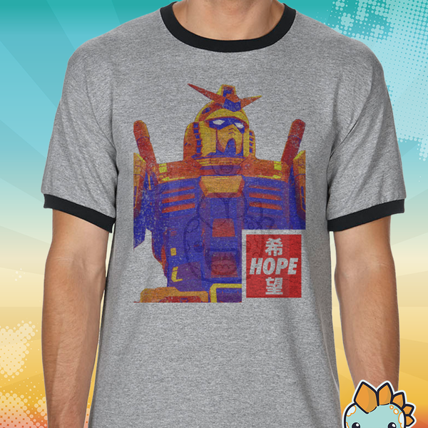 Gundam Hope Sublimated Ringer Tee
