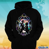 Jack and Sally Holographic Hoodie