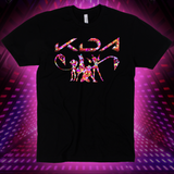 KDA Group Holographic Tee