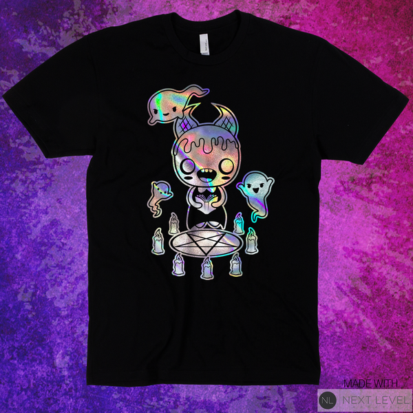 "Coven of Cuteness ""Lilith Seance"" Holographic Tee"