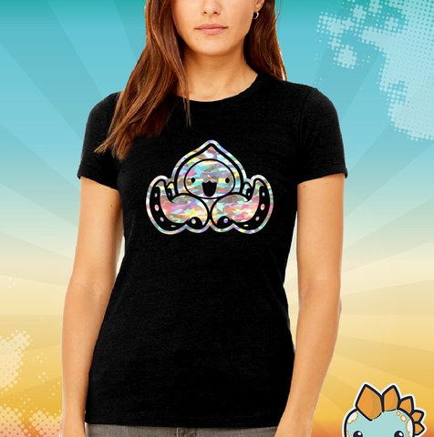 Onion Octopus Holographic Female Tee