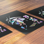Battle Ready RX-93 Holographic Art Print