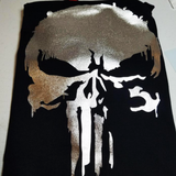 Punisher SKULL Metallic T-shirt