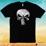 SKULL of Punishing Metallic T-shirt