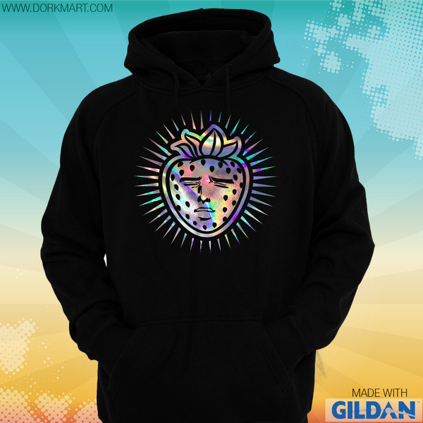 Strawberry Chan Holographic Hoodie