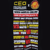 "Official CEO ""World's Collide"" T-shirt"