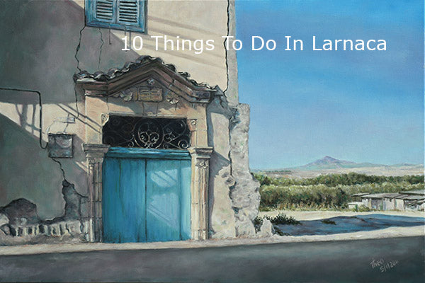 Discover the charm and beauty of Mediterranean doors in Larnaca