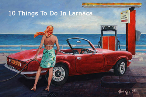 From Edward Hopper to Jack Vettriano, an artistic journey along the Larnaca coast
