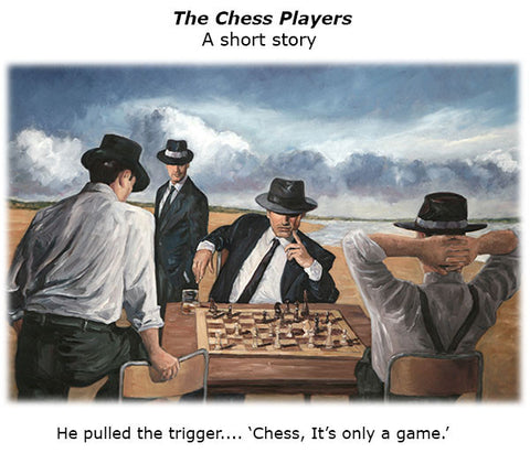 The Chess Players, a fictional short story by Theo Michael