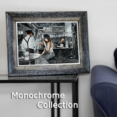 Monochrome Wall Art Painting Collection by Theo Michael