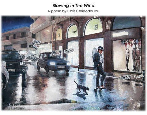 Wall Art by Theo Michael, Blowing In The Wind