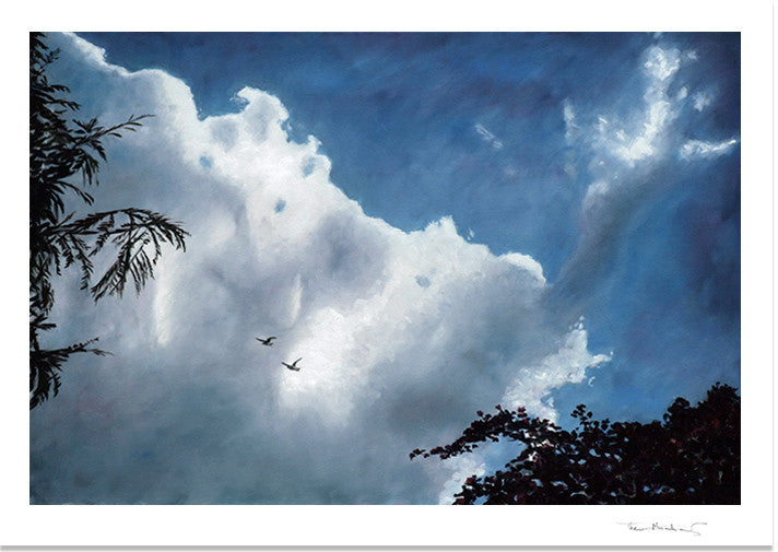 Fine Art Print by Theo Michael, A New Beginning, Cyprus Sky