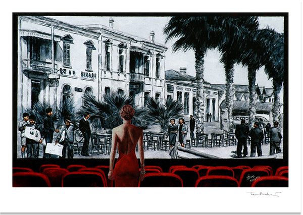Fine Art Print by Theo Michael, Glimpse Into The Past