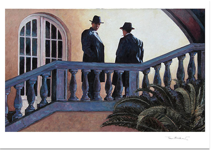 Fine Art Print by Theo Michael, The Meeting