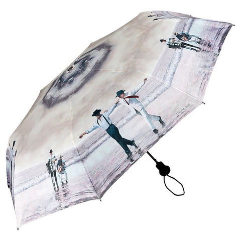 Beach Quartet, a unique umbrella design from Art by Theo Michael