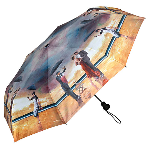 Homage to the Singing Butler, a unique umbrella design from Art by Theo Michael