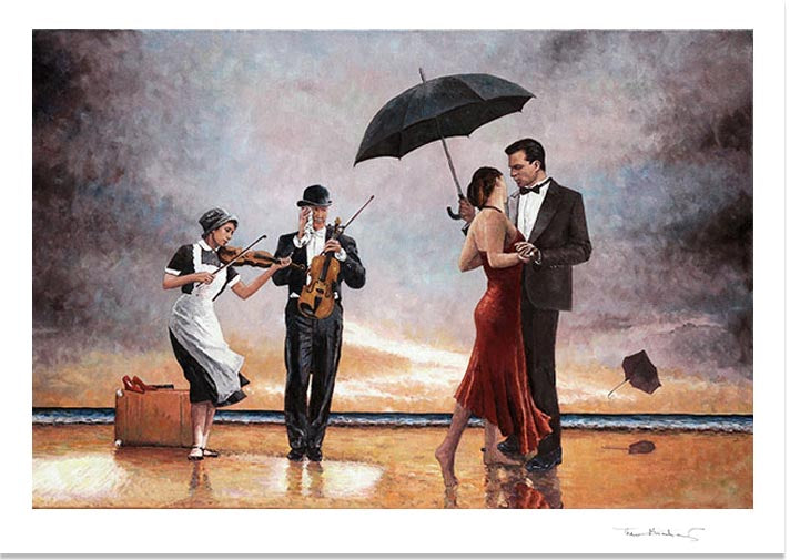 Singing Butler Tribute, fine art print by Theo Michael