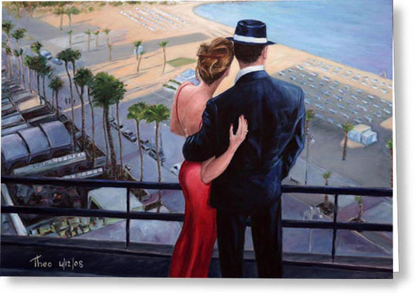 Greeting Cards By Theo Michael, Balcony With A View