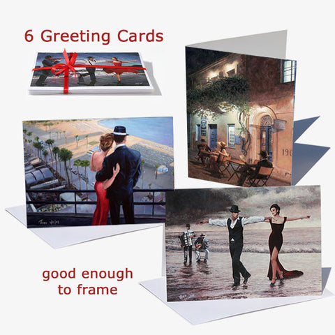 Buy the best selling greeting card set from Art by Theo Michael