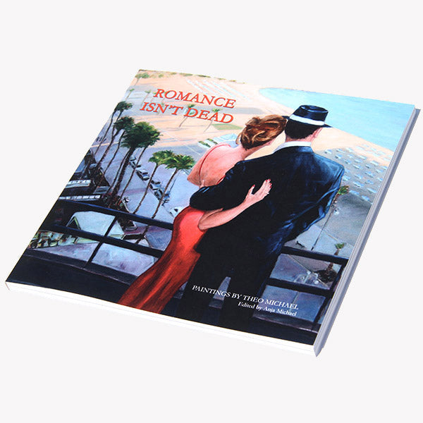 Romance Isn't Dead a book with artwork by Theo Michael
